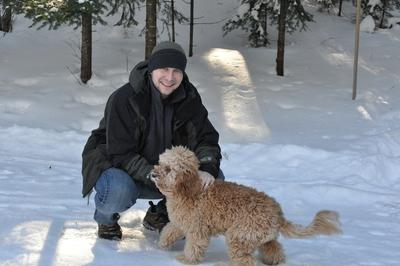Dog Sledding In Northern Wisconsin